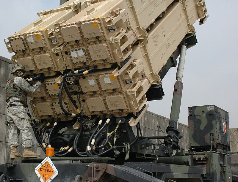 800px-Maintenance_check_on_a_Patriot_missile.jpg