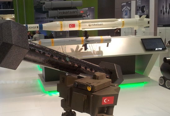 AiHSF Low-Medium range air defence missile Turkish Roketsan's Low & Medium Altitude Air Defens...jpg