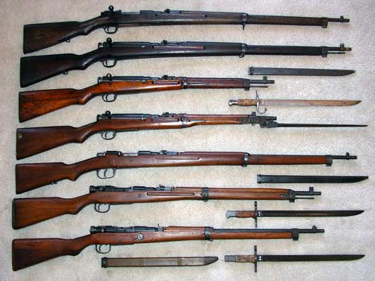 Arisaka_rifle_family.jpg