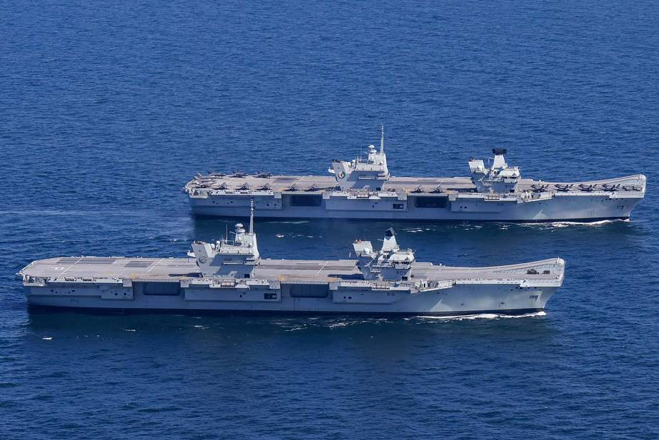 British_Navy_HMS_Queen_Elizabeth_and_HMS_Prince_of_Wales_aircraft_carriers_at_sea_together_for...jpg