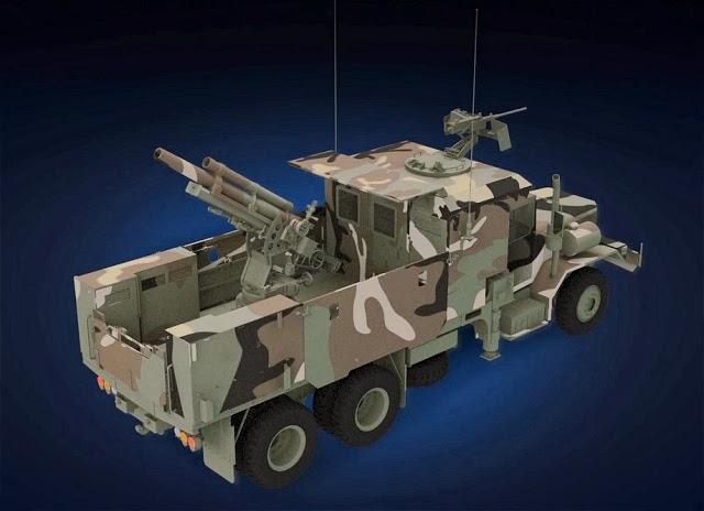 EVO-105_105_wheeled_self-propelled_howitzer_truck_chassis_KM500_Samsung_Techwin_South_Korea_Ko...jpg