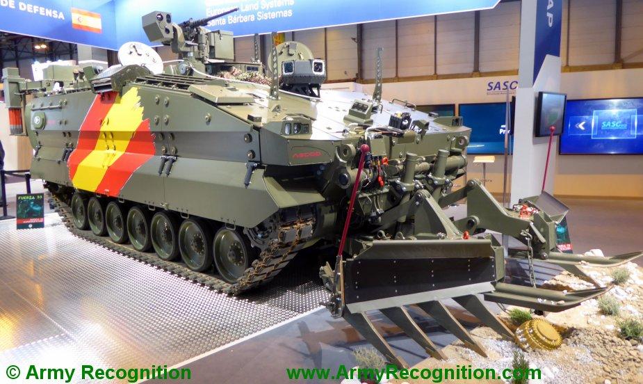 FEINDEF_2019_General_Dynamics_presents_Spanish_Pizarro_Engineering_Combat_Vehicle.JPG