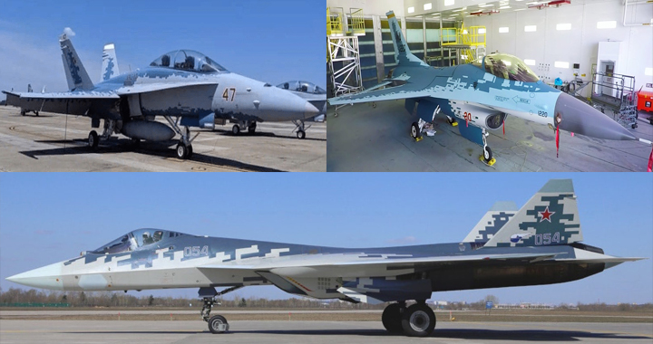 Navy-FA-18D-and-Air-Force-F-16C-painted-in-Russian-Su-57-Like-Ghost-color-Scheme.jpg